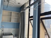 C393本店出租翰林世家5楼64平loft单身公寓精装修家电齐全2300元/月