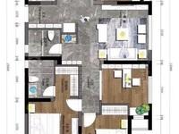 出售国贸仁皇4室2厅2卫126.23平米160万住宅