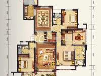 西西那堤22楼大平层,187方,四房两厅三卫,单价8800,满两年,仅售165万