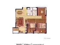 国贸仁皇二期,88方,中间楼层,3室2厅1卫,产权车位另售20万,看房方便价可协