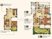 天河理想城洋房一楼带花园带地下室225平198w