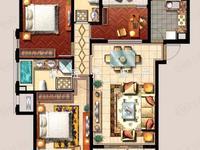 出售:西西那堤高层15楼,三室两厅,精装修,135万