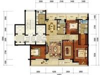出售:绿城御园,高端人群居住区,185平方,四开间朝南,南北超大双阳台,低市场价