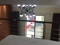 天河理想城,精装,LOFT朝南单身公寓,一室一大厅一卫