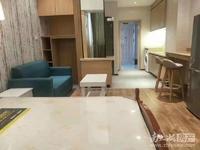 天成大厦中间楼层,精装单身公寓,拎包入住