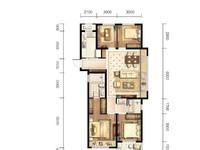 保利堂悦121方四室两厅两卫 套型号