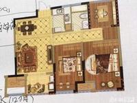 国贸仁皇楼王景观房25楼,80方,三房两厅一卫,双阳台,一口价110万,看房方便