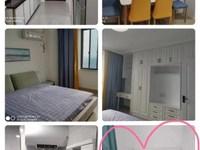 万达边水岸公馆21楼68平单身公寓两室一厅精装拎包入住报价2600/月