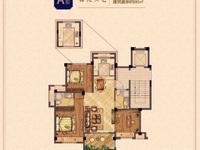 祥生悦山湖一期洋房,93.7方,送入户花园,三房两厅两卫,145万,看房有钥匙