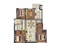 2405 蓝光雍景园7楼 8楼 129.74平 三室两厅两卫 精装交付195万