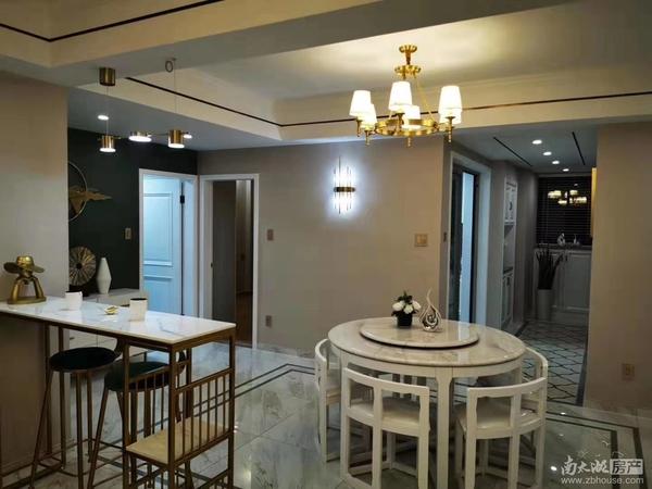 2530星汇半岛F区13楼125.3平米三室朝南二厅二卫精装修159.8万