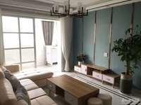 月河小区4楼西边套精装修2室1书房双阳台家具齐全95.8万满2年有钥匙一看就中