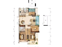 出售融创 太湖印3室1厅1卫88.7平米115万住宅