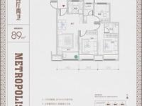 西南新城品质精装洋房,承安新都会二期5楼,89方,含产权车位,123万