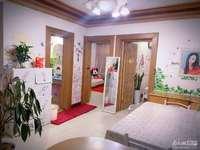 A052龙溪小区四楼,两室半一厅良好装修,家具家电齐全,拎包入住