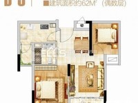 江南车城旁,怡家公馆高层8楼,62方,2房2厅1卫,自住精装修,75万价可协