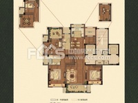 出售:祥生悦山湖高品质小区,143方,4房2厅2卫,楼王位置景观楼层,车位另售!