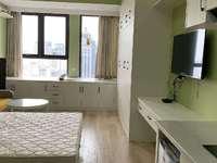 C455信业ICC单身公寓44平12楼精装修家电齐全2200元/月 包物业宽带