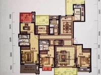 翰林世家,大平层,四房两厅三卫,车位另售28万一个有两个,满2年