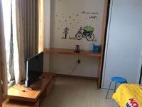 江南华苑3楼单身公寓一室一厅带露台65.5万
