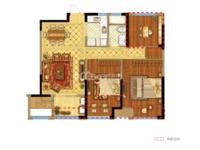 国贸仁皇二期 3室2厅1卫 三开间朝南 性价比高!