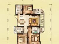 金色水岸 稀缺次顶楼 4室2厅2卫 车位另售25万