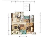 太湖旁,太湖印高层,两房两厅出售,88.7方,115万