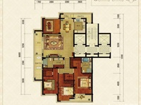 绿城御园大平层198方,318万,单价16060元,车位1个另售,四室两厅两卫,