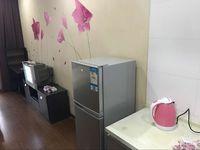 星汇半岛 单身公寓 40平 精装 空,热,彩,冰,洗,床,家具 1400元