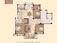 仁皇高品质住宅!祥生悦山湖二期洋房最好户型,133方,四房两卫,200万,有钥匙