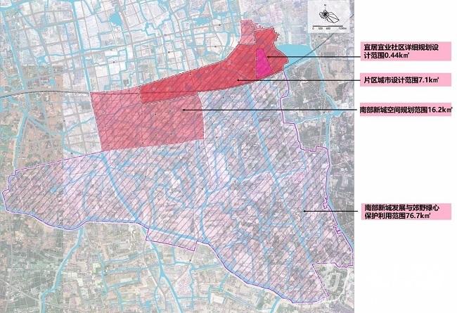临清南部新城规划图