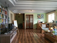 闻波小区6楼101平米 45平米阁楼无产权较好装修2室2厅阁楼做储藏室车库独立