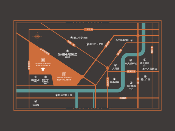老城区凤凰路 雅居乐滨江国际 精品单身公寓 落户 三学区 爱山五中 公立幼儿园
