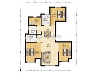 学区房 包营业税 中梁锦园 120平 黄金楼层 西边套 户型正 4室2厅2卫