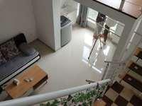 凤凰明珠单身公寓 Loft 7楼精装家电齐全朝南可办公可住2500/月