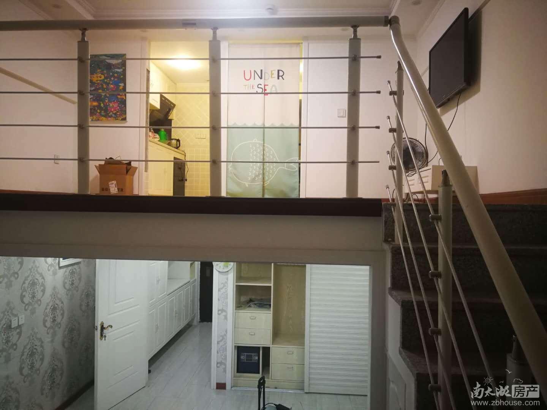 翰林世家15幢单身公寓Lofft结构两层中等装修出租