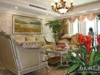 H262天际花园大平层四室两厅两卫豪华装修,家电齐全,河景房,车位另售