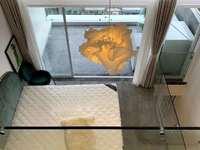 阳光城 5楼复式 产证60平 3室2卫 1花园阳台 精装 东西全部留下95.6万