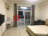 景鸿铭城单身公寓,中档装修,家电齐全,朝南,满两年
