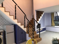 翰林世家loft单身公寓,11楼朝西,下午阳光好,实际可用75平米,精装修