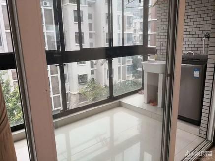 清丽家园多层4楼89.5平,2室2厅,居家精装,车库16平,满2年132万有钥匙