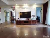 绿城御园5楼200平大平层边套,豪装四室二厅,位置好,装修好,435万,车位另售