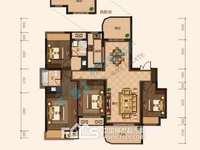 1598新华府大平层四室两厅毛坯水电已装好,带车位储藏室