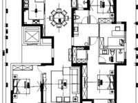 湖东府 豪华精装可拎包入住 大平层东边套 174平4室2厅2卫 近万达和西山漾