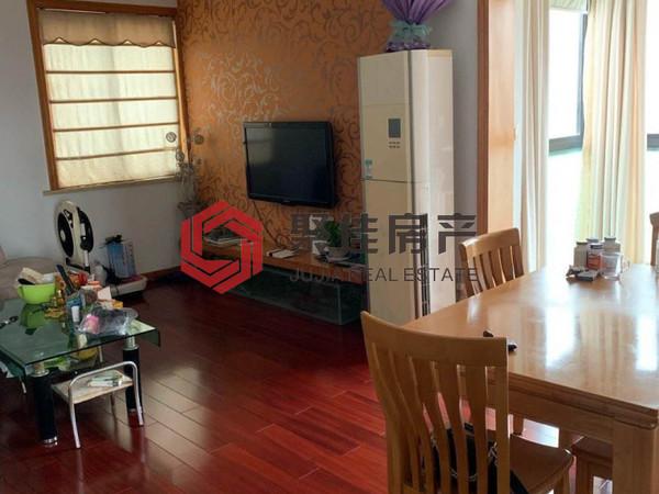 余家漾汀州苑114.3方三室两厅居家装 总价带产权车位