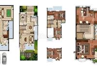 九月洋房法式别墅类独栋,产证363方,前后花园200平左右,直望太湖,698万