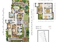国贸仁皇一楼带花园,产证153方,花园260方,四房两厅两卫,另地下室158方