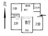潜庄公寓,三房两厅两卫,三学区,光线好,