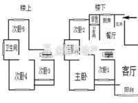 0137出售大港御景新城5室2厅跃层,超大空间,带大阳台
