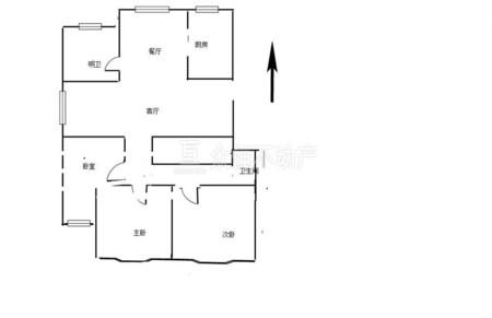 19712出售鸿基花园3室2厅居家装修
